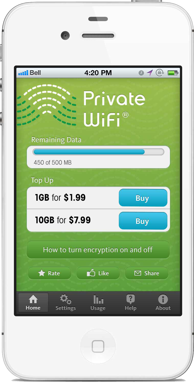 Personal VPN Private WiFi
